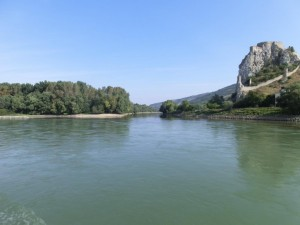 Confluence of March in Danube