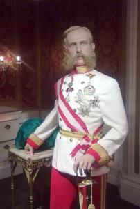 MadameTussauds Emperor Franz Joseph