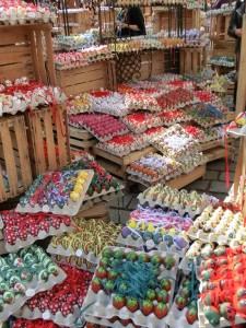 Easter market Vienna