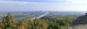 View from the Kahlenberg to Vienna