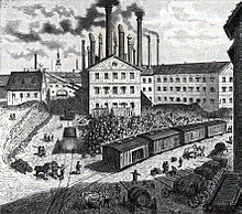 Schwechat brewery 1869 - Wikipedia