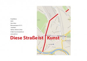 The way of the Taborstraße