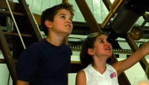 Beobachtung am Großen Refraktor, (c) Kuffner Sternwarte VHS Wie