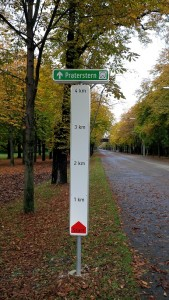 Hauptallee length