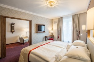 Elegance and comfort in the suite
