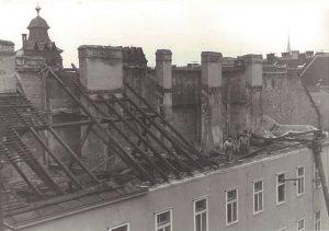 1945, rebuilding Hotel Stefanie