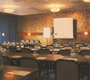 Modern conference room, 1970