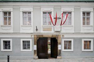 Haydnhaus Front, Wien Museum, Hertha Hurnaus