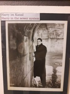 Harry in the tunnel @3rd man museum