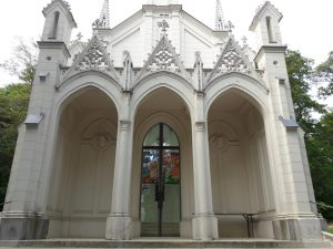 Entrance to the Sisi Chapel