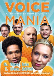 Poster Voice Mania 2019 © Slixs, Helmut Stadlmann