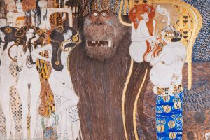 Gustav Klimt Beethovenfries 1901 © Wien Tourismus, Paul Bauer
